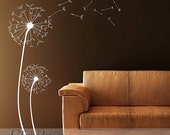 Dandelions Removable Vinyl Wall Decal
