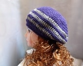 Crochet Hat Pattern: Beret Slouch Pattern in PDF N 27