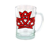 Beer Stein - Canada Day - Red Canadian Maple Leaf Knot