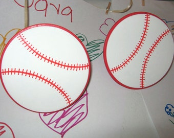 Pair of BASEBALL Art Holders for Children's Art