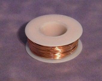Copper Wire Round 24ga 0.51mm 1/4lb Coil