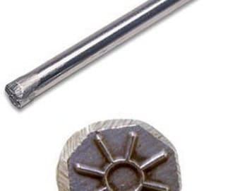 Jewelers or Metal Worker Design Stamp Sun  Number 57