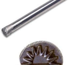 Jewelers or Metal  Worker Design Stamp Sunrise Number 52