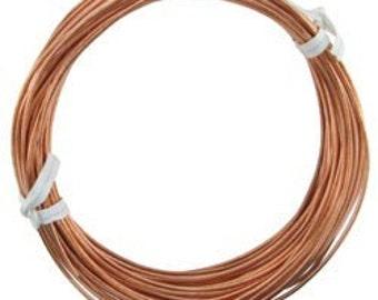 Copper Wire Round 16ga 1.30mm 1/4lb Coil