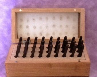 Premium Lower Case Script Alphabet 27pcs IN Wood Box