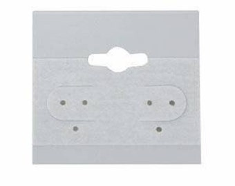 100 Gray Earring Cards