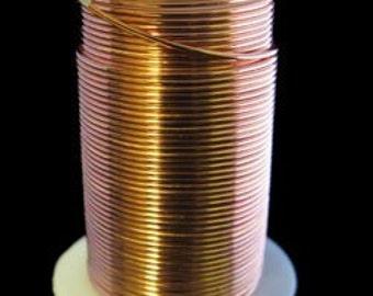 Tarnish Resistant Wire Copper Color 18ga 10YD Spool