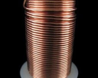 Tarnish Resistant Wire Copper Color 16ga 8yd Spool