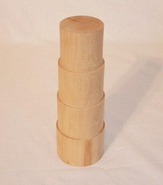 Solid Wood Stepped 8 Inch Bracelet Mandrel SALE
