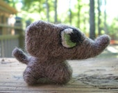 April - The Wee Felted Elephant