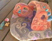 Coral Reef- Needle felted Playscape and Sea Animals