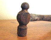 Vintage Ball Pein Hammer / Antique Tool