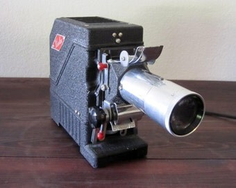 Vintage Roll Slide Projector by Viewlex. Circa 1930's.