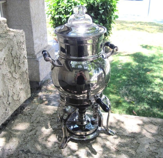 103 Year Old Antique Universal Coffee Percolator / Vintage Coffee Maker