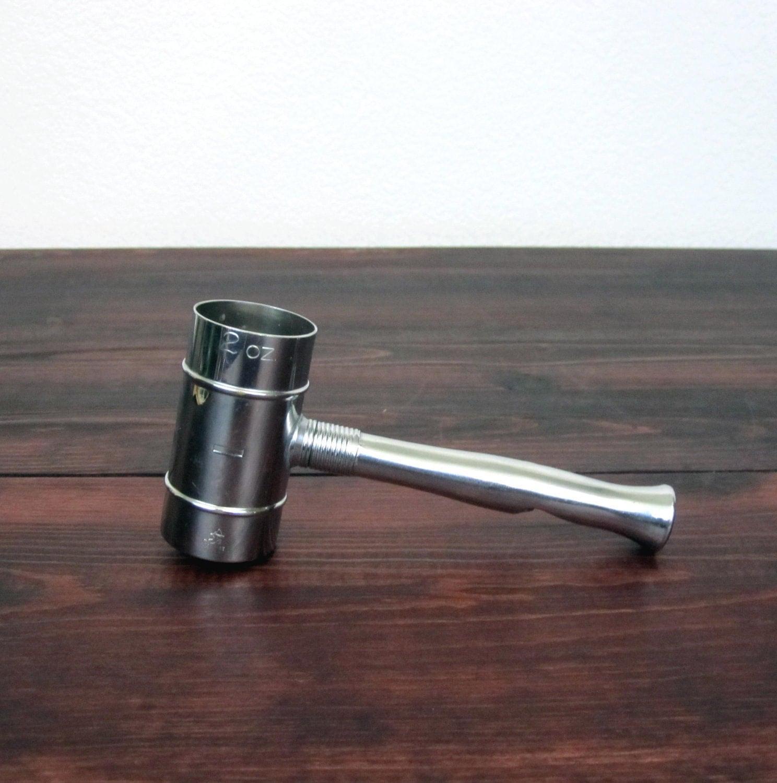vintage bartending tool jigger bottle opener cork screw. Black Bedroom Furniture Sets. Home Design Ideas