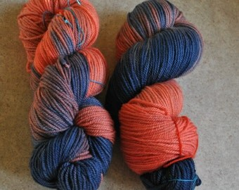 Organic Merino Worsted Weight Waiting For The Thaw