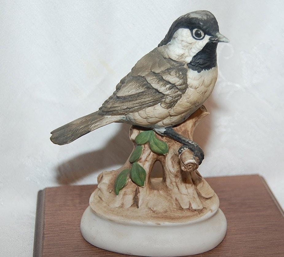 Chippy the chickadee chichadee vintage lefton china - Chickadee figurine ...