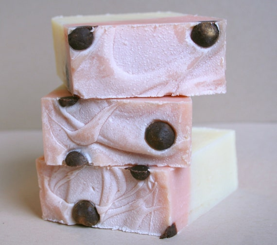 New Wink Soap- Pink Grapefruit and Bergamot with Cocoa Butter Balls