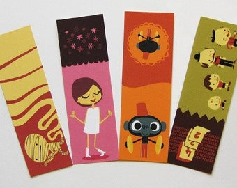 Bookmarks pack 4