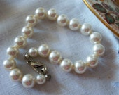 Bracelet Wedding Pearls