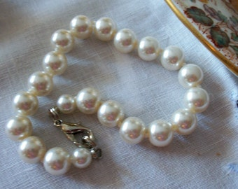 Bracelet Wedding Pearls