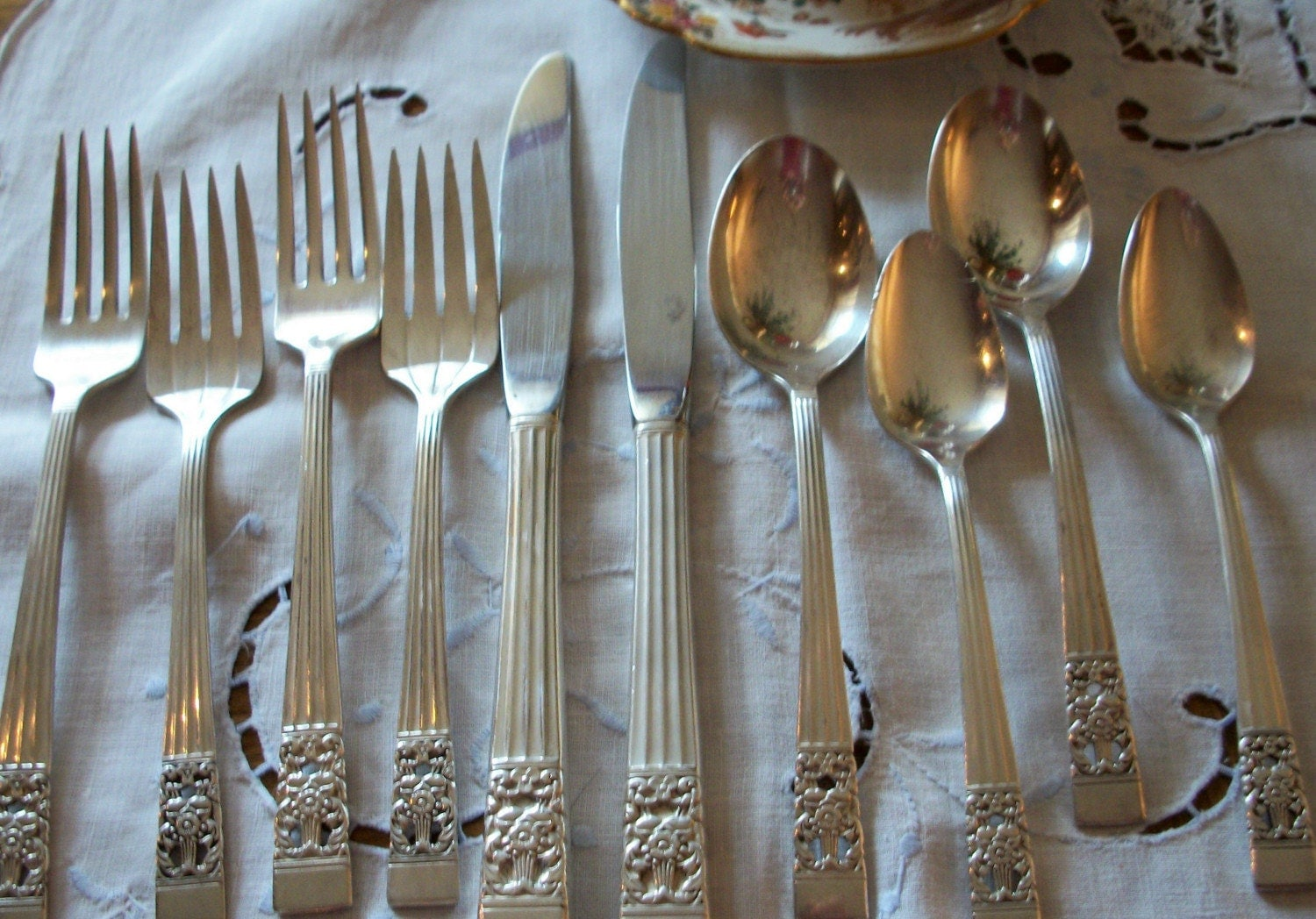 Antique Community Silverware Place Setting By Jannyfays On