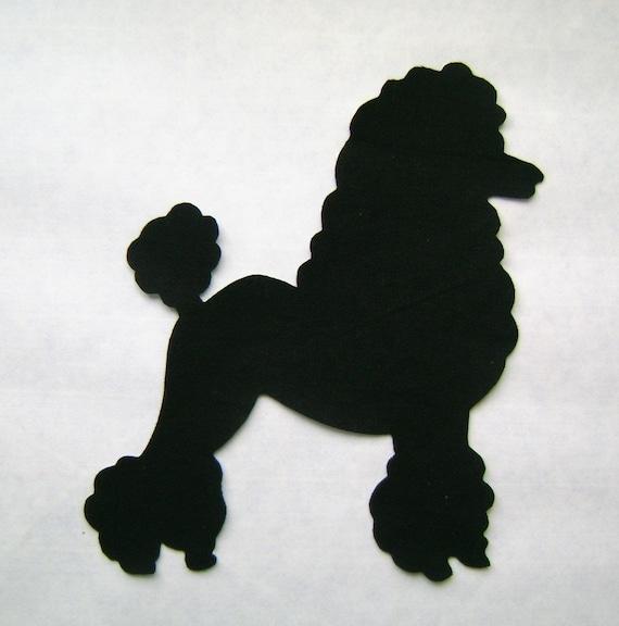 poodle skirt applique template - 50 39 s poodle patch applique