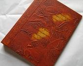 Rune Journal Refillable Brown Rust 8x6 Handmade Original