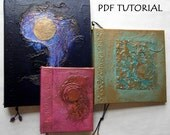 PDF Tutorial for Refillable Handmade Journal