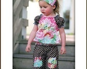 Olivia Top Sewing Pattern by Pink Fig Patterns