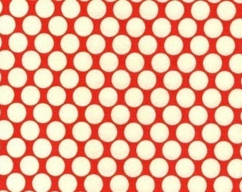 Amy Butler Full Moon Polka Dot Cherry, Choose your cut