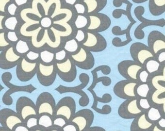 Amy Butler Fabric Wallflower Sky