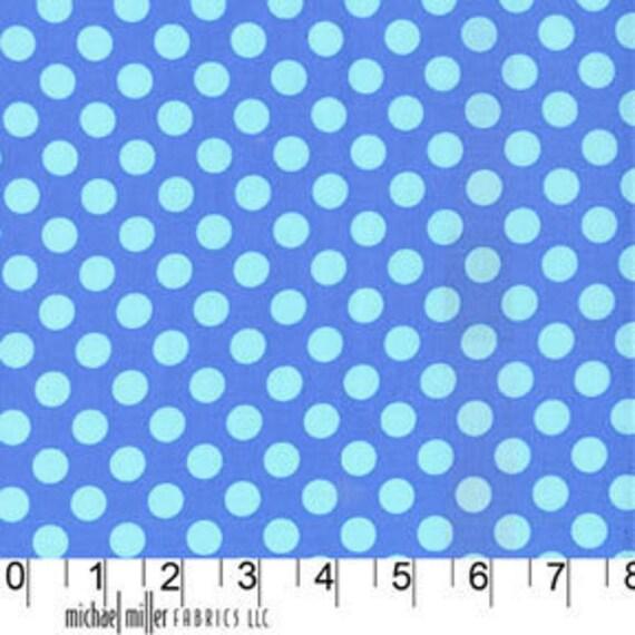 Michael Miller Fabric Ta Dot Breeze Polka Dots 1 yard cut