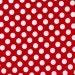 Michael Miller Fabric Ta Dot Minnie Red