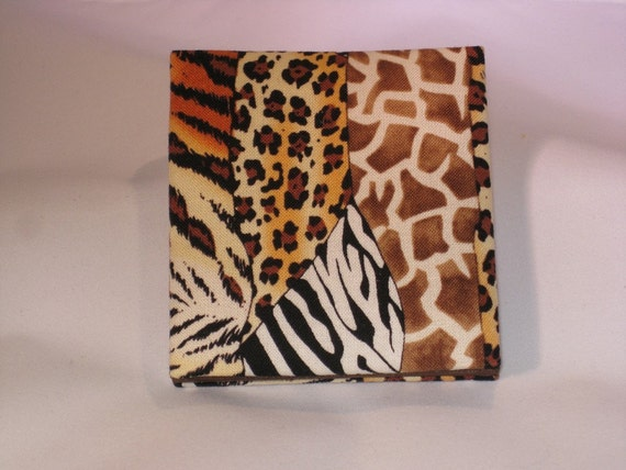 Safari Animal Print Mini Magic Wallet