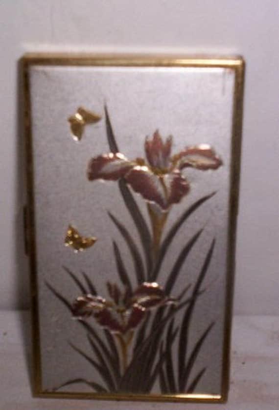 Vintage Brass Cigarette Case Made in Japan
