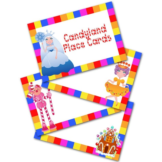 graphic relating to Printable Candyland Cards known as Candyland Playing cards Shots - Opposite Look