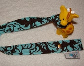 You CHOOSE Fabric- Toy or Cup Strap