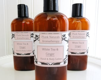 White Tea and Ginger Hand and Body Lotion