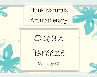 Ocean Breeze Massage Oil