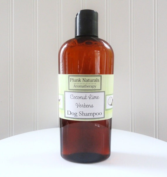 DOG WASH Coconut Lime Verbena All Natural Shampoo 8 oz