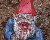"""Zombie Garden Gnome, """"Rising Dead""""  (Allow 4-6 weeks for delivery)"""
