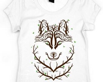 Women's Rib T-Shirt - woods