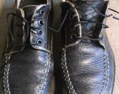 "Vintage J.Crew ""tractor"" shoes, ladies size 7.5"