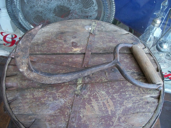 SALE - Primitive Antique Northern Maine Pulp Hook from Rustysecrets