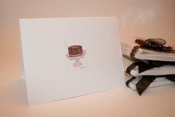 Gateau Note Card Set