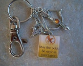 Hunger Games Keychain Backpack Clip