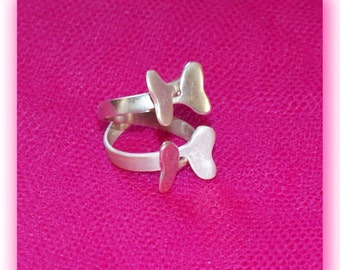 The Butterflies Ring -925 sterling silver(OOAK)