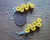 paper cascade earrings