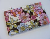 Floral Nook Tablet Padded Fabric Sleeve Cover Case